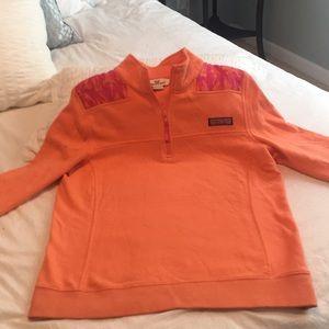Vineyard Vines Peach/Pink Pullover
